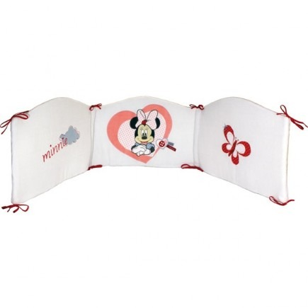 Tour de lit bébé Love Minnie Babycalin | Souris